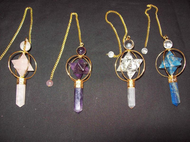 Merkaba Point Pendulum